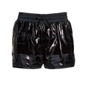 NWT!- Nike black metallic shorts